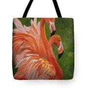 Fun Flamingos Tote Bag