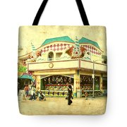 Fun House - Jersey Shore Tote Bag by Angie Tirado