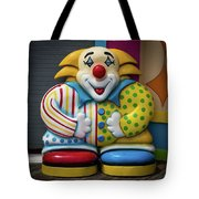 Fun House Clown Point Pleasant Nj Boardwalk Tote Bag