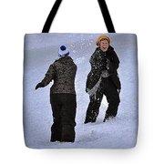 Fun In The Snow Tote Bag
