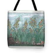 Fun In The Weeds Tote Bag