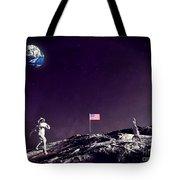 Fun On The Moon Tote Bag