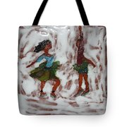 Fun Times - Tile Tote Bag