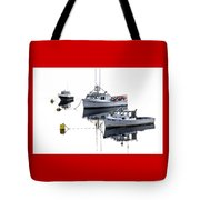 Fundy Morning - Carrie And Kayla - Logan Anne Tote Bag