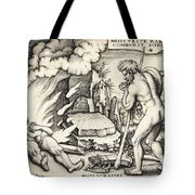 Funeral Of Hercules Tote Bag