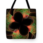 Funky Clover Tote Bag