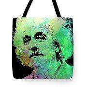 Funky Einstein  Tote Bag