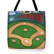 Funky Fenway Tote Bag