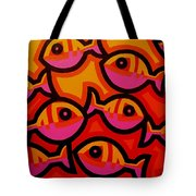 Funky Fish Iv Tote Bag