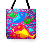 Funky Fish Tote Bag