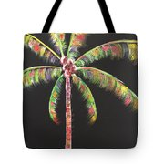 Funky Palm Tree Tote Bag