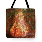 Funky Pear Tote Bag