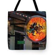 Funky Pirate Tote Bag