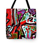 Funky Pop-11 Tote Bag