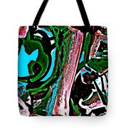 Funky Pop-12 Tote Bag