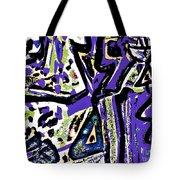Funky Pop-15 Tote Bag