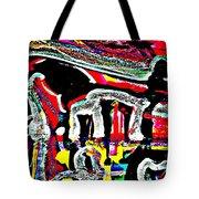 Funky Pop-16 Tote Bag