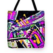 Funky Pop-7 Tote Bag