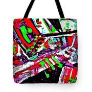 Funky Pop-9 Tote Bag