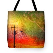Funky Sunset Tote Bag