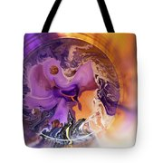 Funnel Of Time Tote Bag