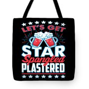 Funny Alcohol Fireworks Fourth July Gift 4th July Independence Day Tote Bag
