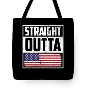 Funny American Flag Fourth July Gift 4th July Independence Day Tote Bag