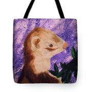 Funny Ferret Tote Bag