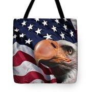 Funny Flag Tote Bag