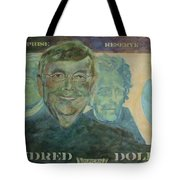 Funny Money Tote Bag by Claire Gagnon