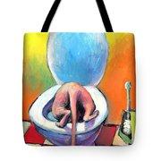 Funny Sphynx Cat Painting Prints Tote Bag by Svetlana Novikova