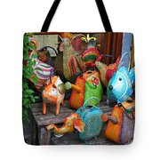 Funny Watering Cans Tote Bag