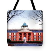 Furman University Judson Hall  Tote Bag