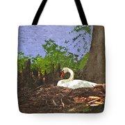Furman University Swan Tote Bag
