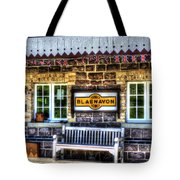 Furnace Sidings Railway Station 3 Tote Bag