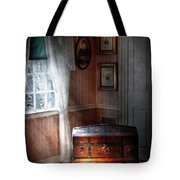 Furniture - Bedroom - Family Secrets Tote Bag by Mike Savad