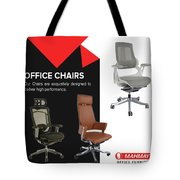Furniture Supplier Of Online Office Chairs Abu Dhabi Tote Bag