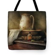 Furniture - Table - The Water Pitcher Tote Bag by Mike Savad