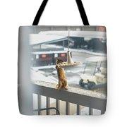 Furry Friend Tote Bag