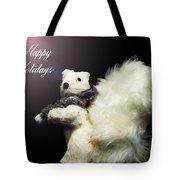 Furry Holiday Tote Bag