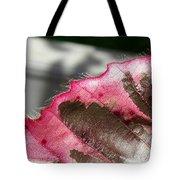 Furry Leaf Tote Bag