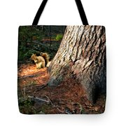 Furry Neighbor Tote Bag
