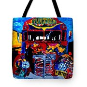 50th Anniversary Further Bus Tour Tote Bag
