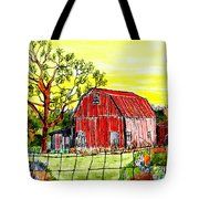 Further Down The Road Tote Bag