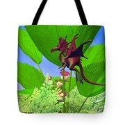 Fury Flying Dragon Tote Bag