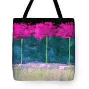 Fuschia Trees Tote Bag