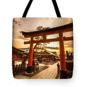 Fushimi Inari Taisha Shrine In Kyoto Tote Bag