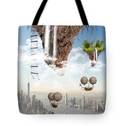 Future Idealism Tote Bag by Solomon Barroa
