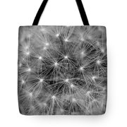 Fuzzy - Black And White Tote Bag