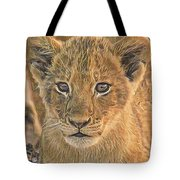 Fuzzy Cubby Tote Bag